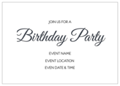 Fun Birthday - invitation-cards Maker