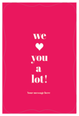 You Are Loved - invitation-cards Maker