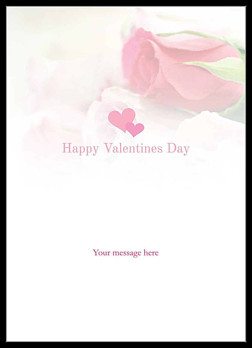 Valentine Stitch back - Invitation Cards Maker