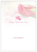 Valentine Roses - invitation-cards Maker