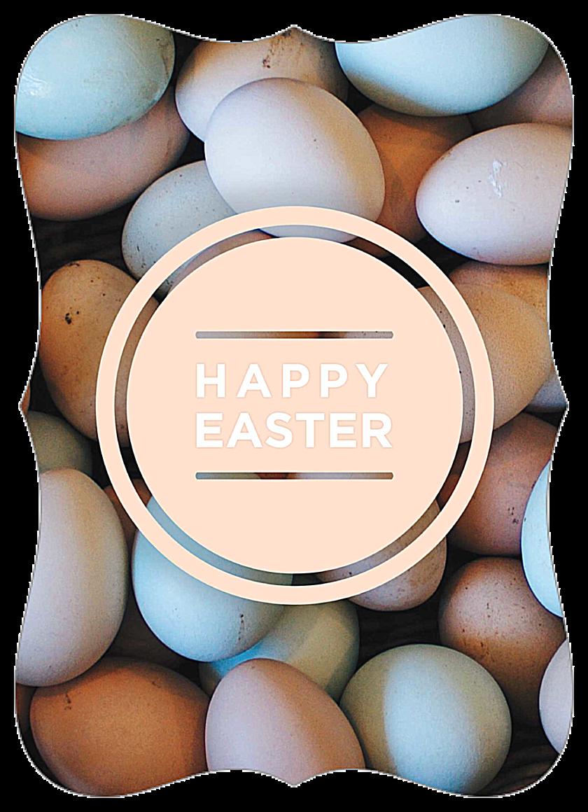 Easter Eggs front - Invitation Cards Maker