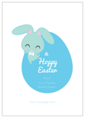 Hoppy Easter - invitation-cards Maker