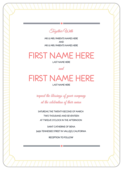 Love is Radiant - invitation-cards Maker