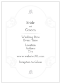 Floral Wedding - invitation-cards Maker