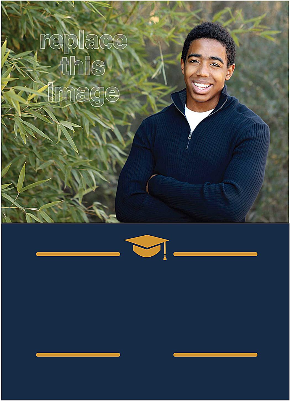 Ivy League Grad front - Invitation Cards Maker