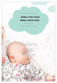 Raindrops Baby - invitation-cards Maker
