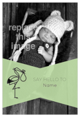 Say Hello Stork - invitation-cards Maker