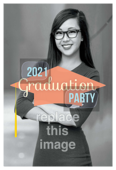 Grad Cap Party - invitation-cards Maker