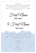 Coastal Hydrangea - invitation-cards Maker