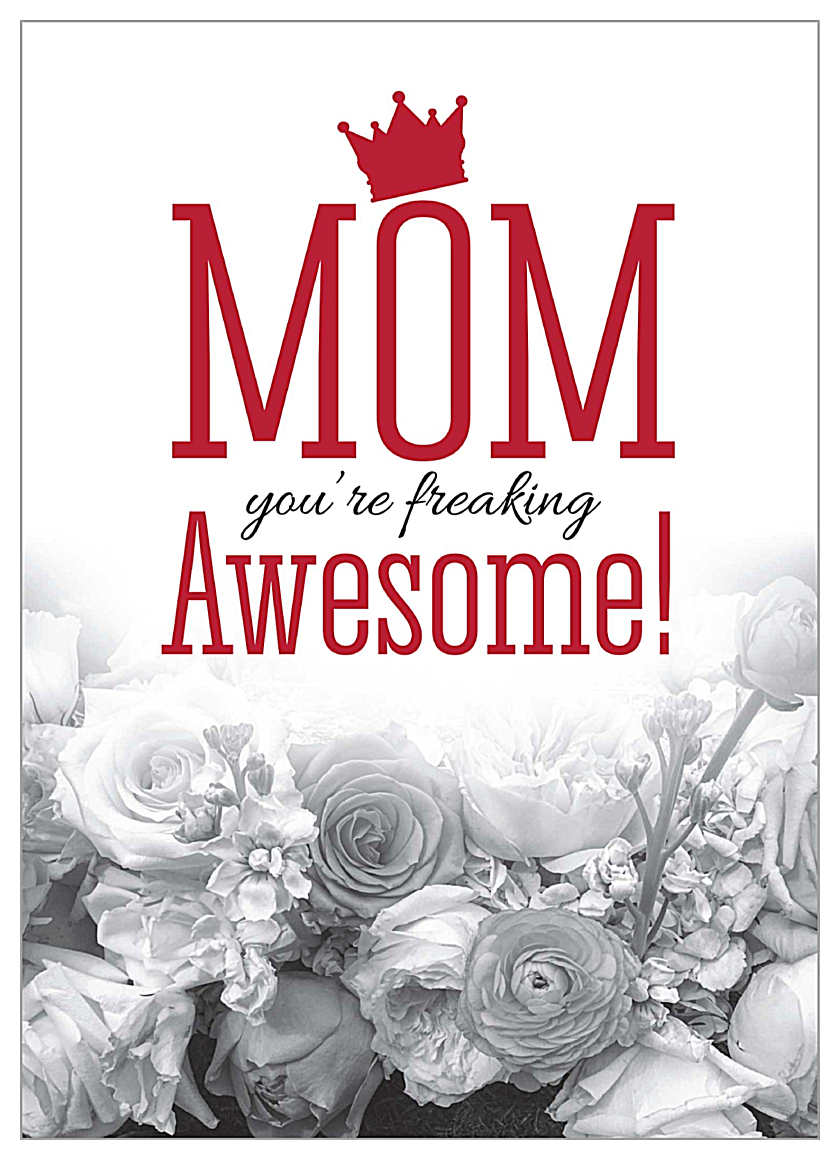 Roses for Mom front - Invitation Cards Maker