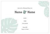 Rehearse Your Lines - invitation-cards Maker