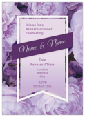 Bouquet and Ribbon - invitation-cards Maker