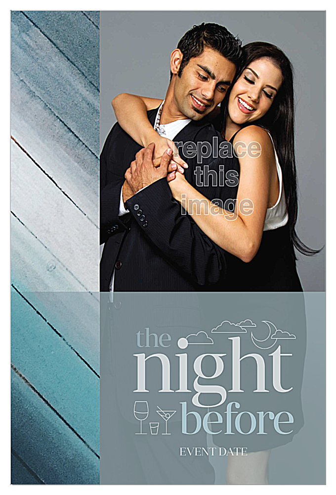 The Night Before front - Invitation Cards Maker