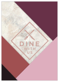 Dine With Us - invitation-cards Maker