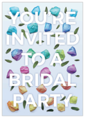 Rosey Bridal Party Petals - invitation-cards Maker