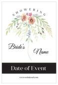 Flower Shower - invitation-cards Maker
