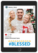 Blessed - invitation-cards Maker