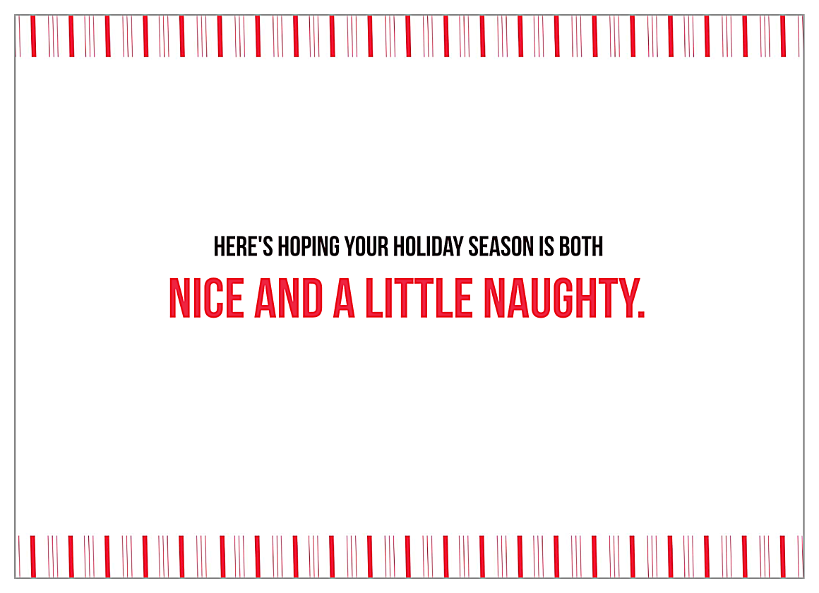 Merry Elfin' Christmas back - Invitation Cards Maker
