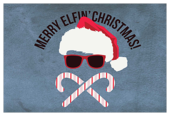 Merry Elfin Christmas - invitation-cards Maker