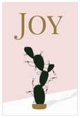 Joyful Christmas Cactus - invitation-cards Maker