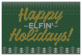 Happy Elfin Holidays - invitation-cards Maker
