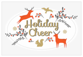 Holiday Deer - invitation-cards Maker