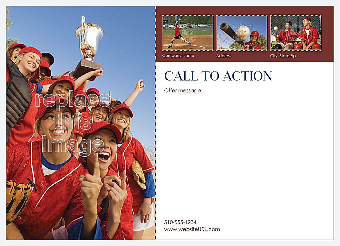 Team Spirit back - Postcards Maker