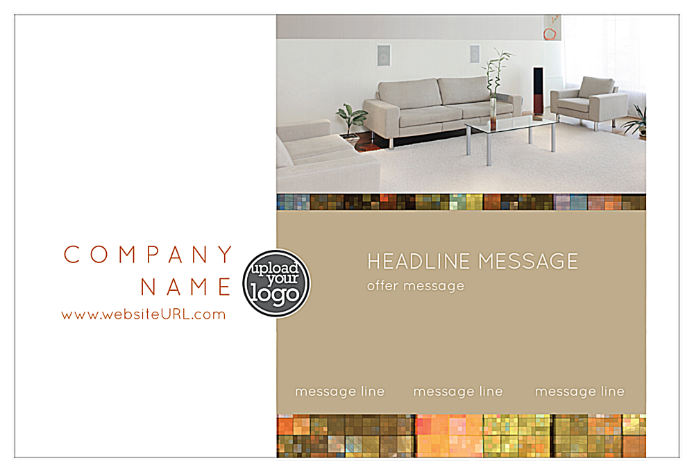 Mosaic Luxury front - Postcards Maker