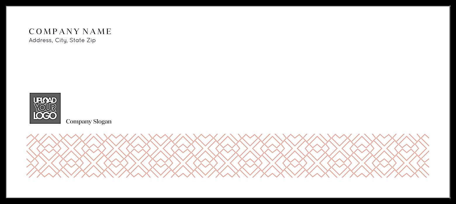Geo Pattern front - Standard Envelopes Maker