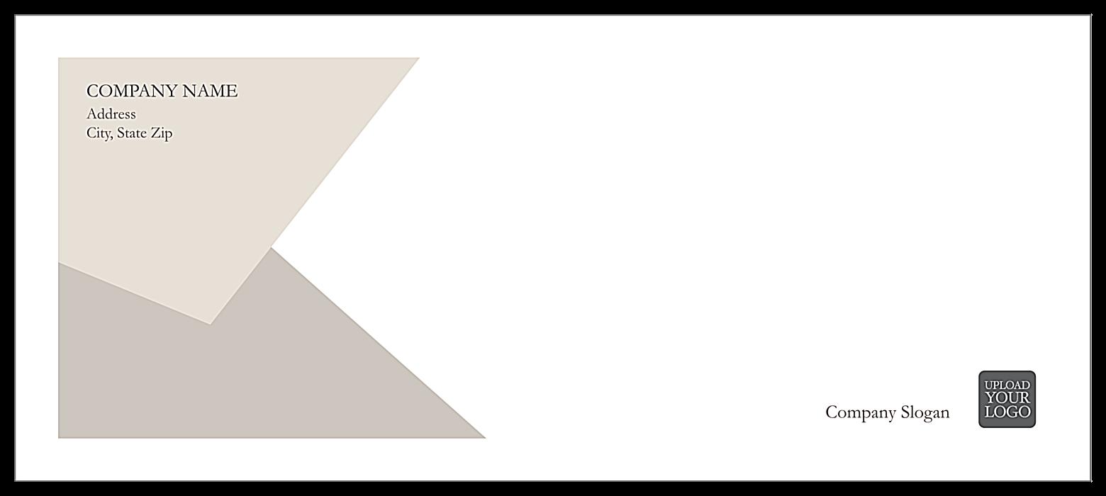 Triangular Overlap front - Standard Envelopes Maker