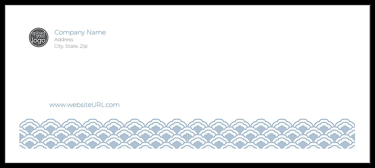 Oriental Trim front - Standard Envelopes Maker