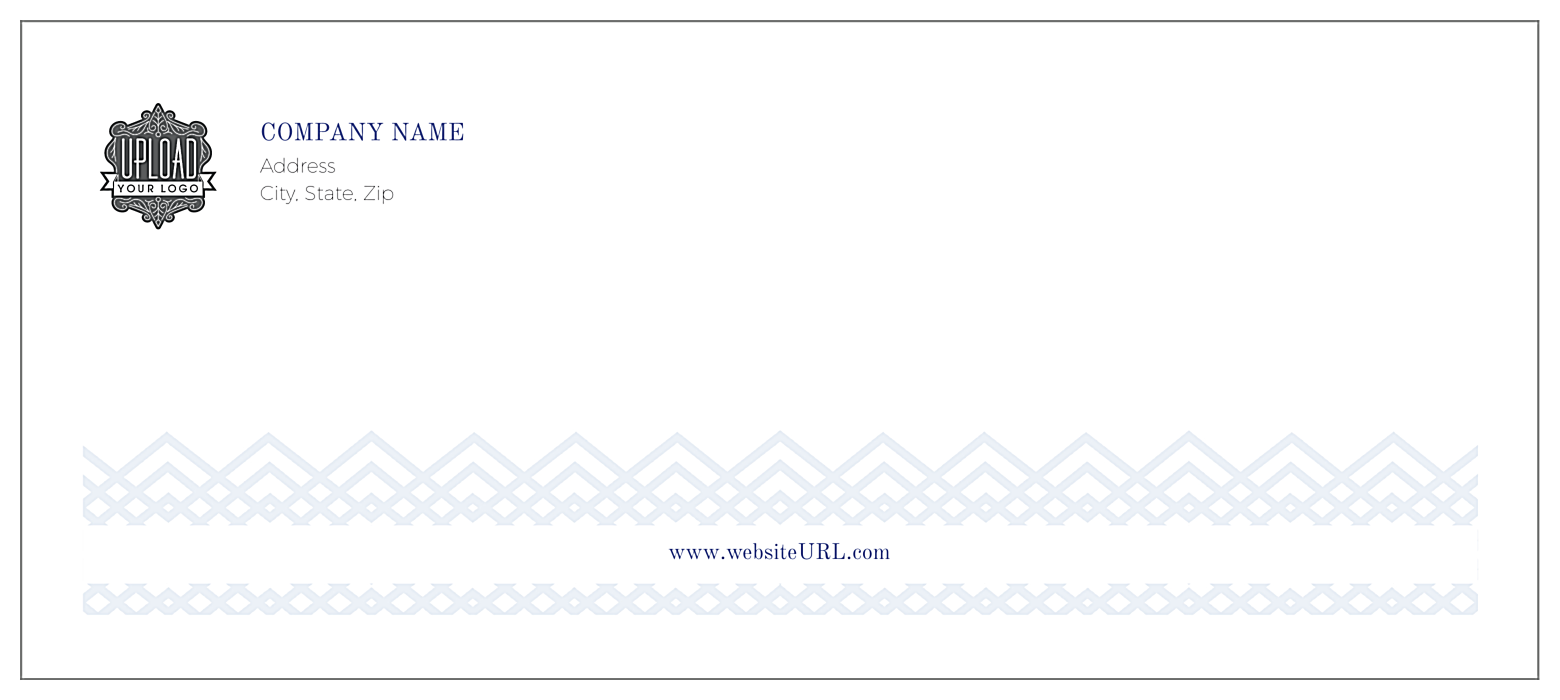 Diamond pattern front - Standard Envelopes Maker