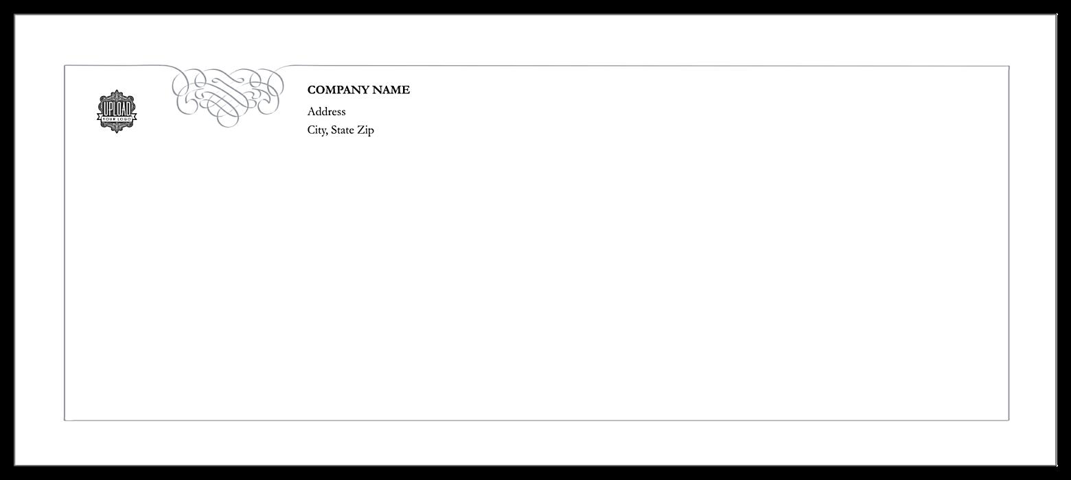 Polished Correspondence front - Standard Envelopes Maker