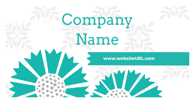 Floral Tiles front - Stickers Maker
