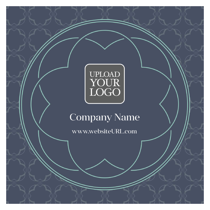 Circle Emblem front - Stickers Maker