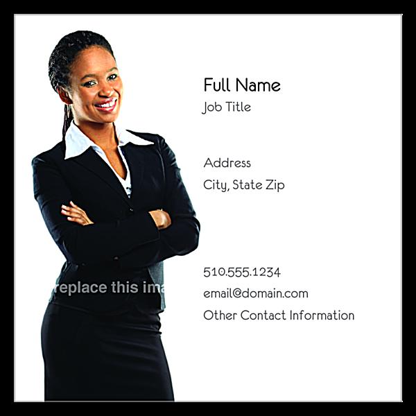 Fancy Wallpaper front - Ultra Business Cards Maker