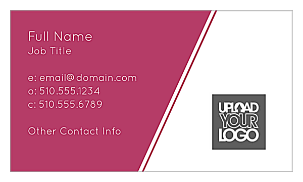 Angular Lines front - Ultra Business Cards Maker