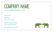 Elephant Textile - ultra-business-cards Maker