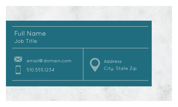 Granite Tab front - Ultra Business Cards Maker