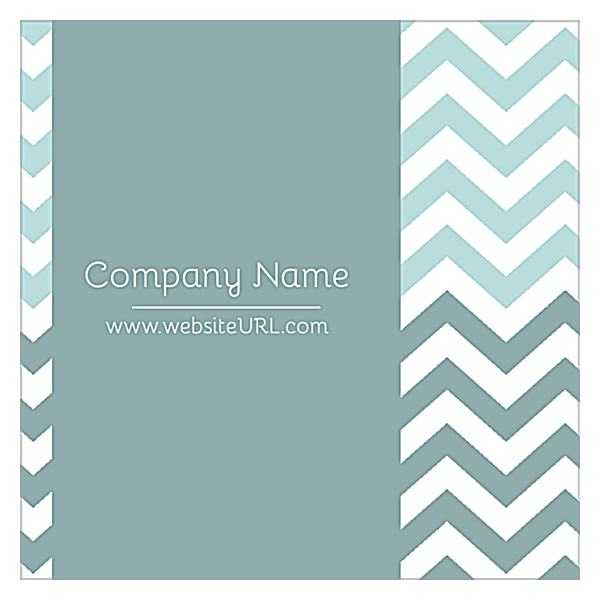 Crooked Stripes front - Ultra Business Cards Maker