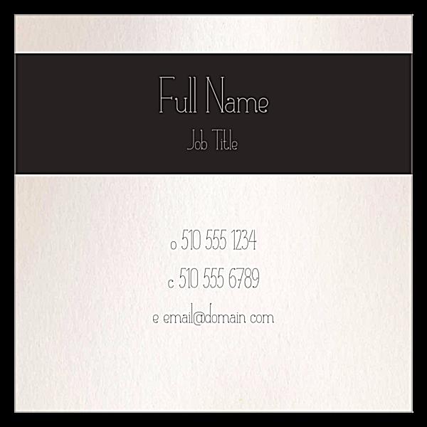 Flower Border back - Ultra Business Cards Maker