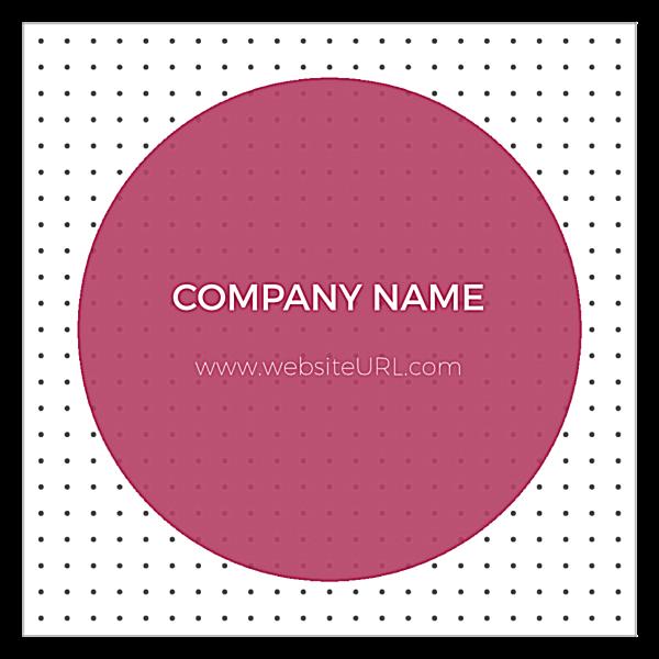Dotty Card back - Ultra Business Cards Maker