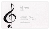 Clefs - ultra-business-cards Maker