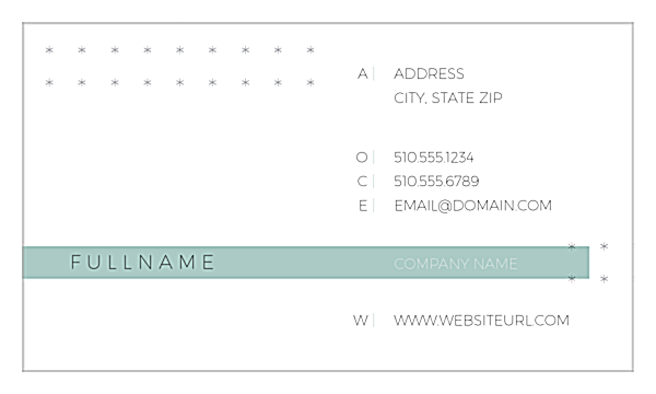 Connect the Dots front - Ultra Business Cards Maker