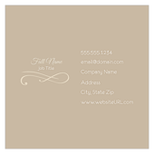 Elegant Scroll - ultra-business-cards Maker