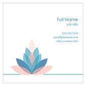 Lotus Connection - ultra-business-cards Maker