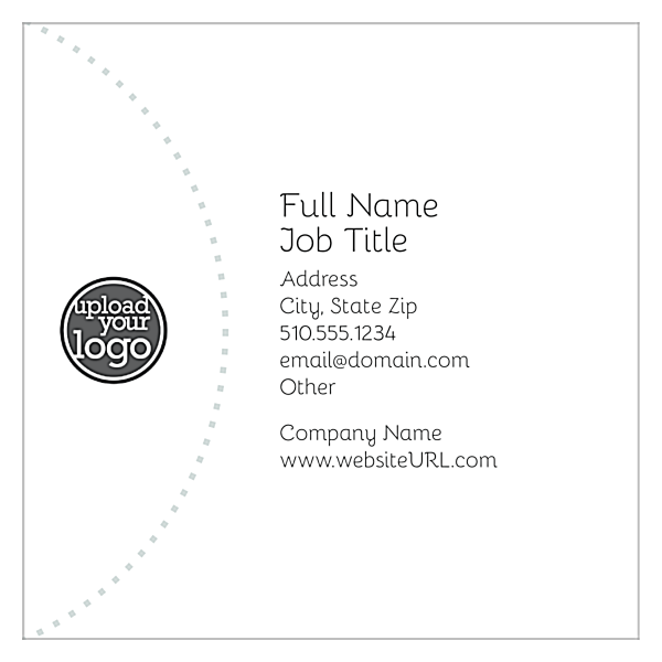 Circles in the Orchard front - Ultra Business Cards Maker
