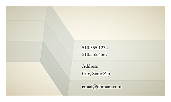 Abstract Illusion back - Ultra Business Cards Maker