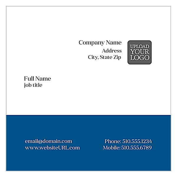 Swipe Card front - Ultra Business Cards Maker
