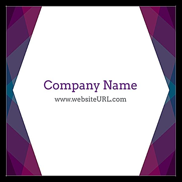 Purple Haze back - Ultra Business Cards Maker